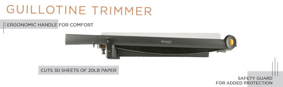guillotine trimmer