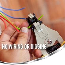 No Wiring or Digging
