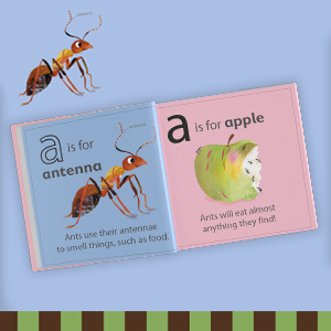 Interior image from A is for Ant