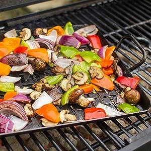 Lodge Carbon Steel Grilling Pan