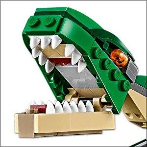 LEGO 31058 Creator Mighty Dinosaurs Toy, 3 in 1 Model
