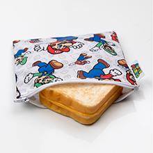 super Mario reusable sandwich bag