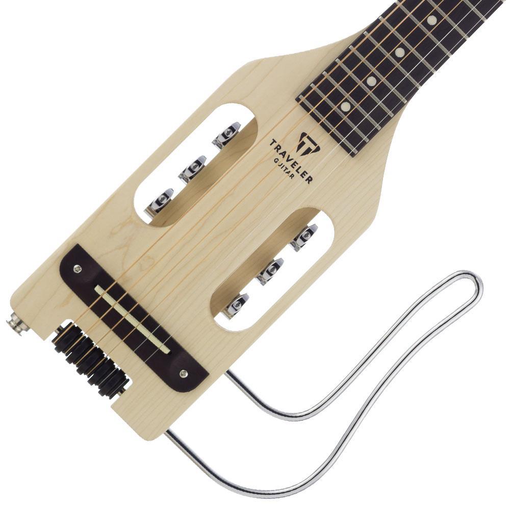 traveler guitar ultra light acoustic electric travel guitar with gig bag musical. Black Bedroom Furniture Sets. Home Design Ideas