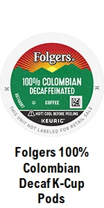Decaf Colombian K Cups