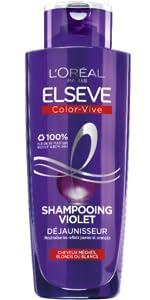 Color-Vive Violet Elseve L'Oréal Paris Shampoo