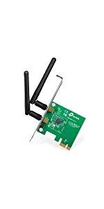 Amazon.com: TP-Link TL-WN881ND N300 PCI-E Wireless WiFi ...