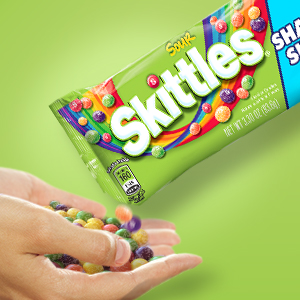 Skittles Sour Candy Bag - Share Size