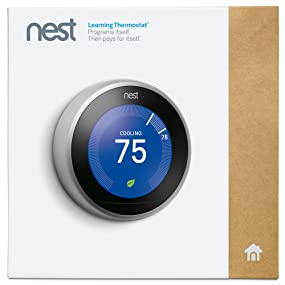 Nest T3007es Learning Thermostat Easy Temperature