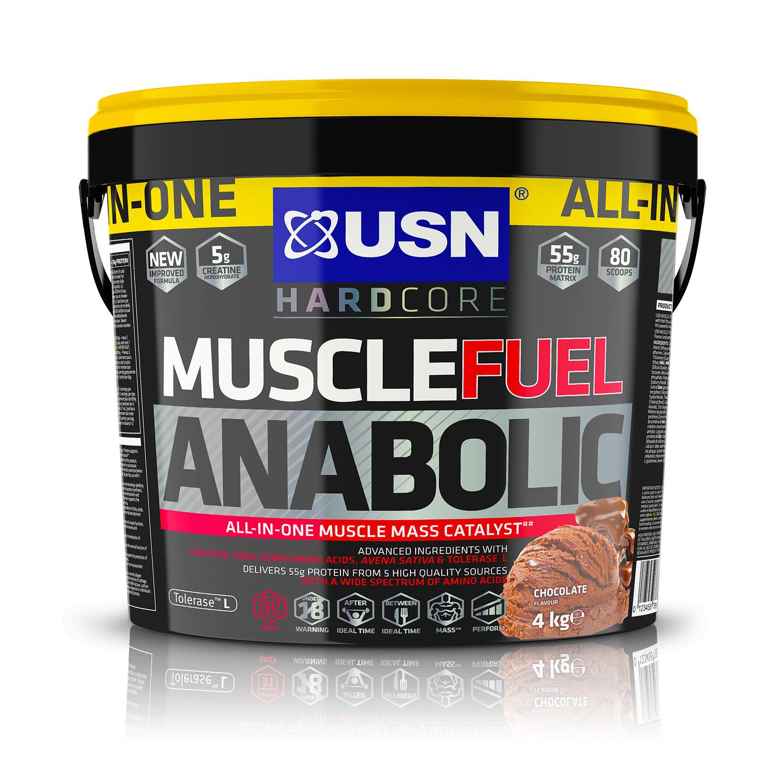 usn muscle fuel anabolic 4kg sale