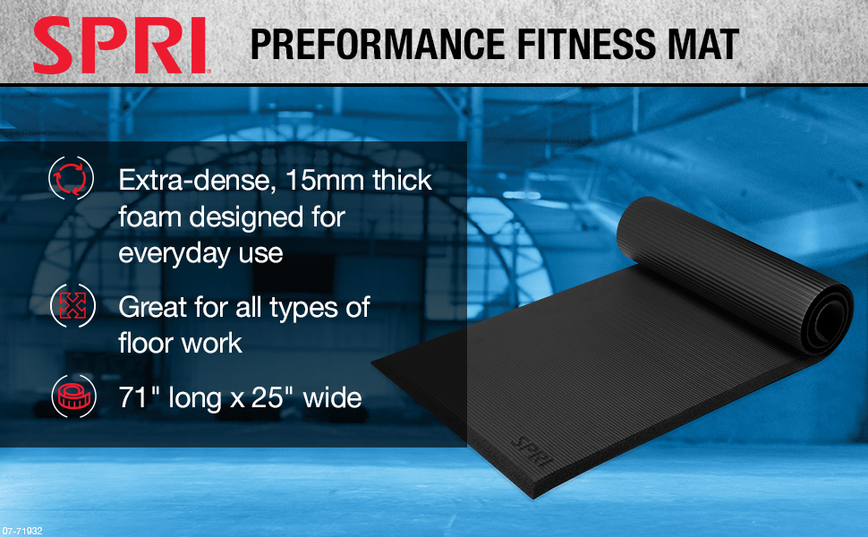 SPRI Performance Fitness Mat