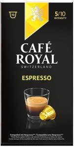 Café Royal Espresso Forte 50 cápsulas compatibles con Nespresso ...