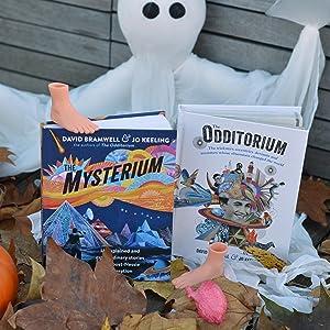 odditorium; mysteries; stranger things