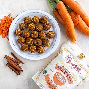 muesli, carrot, recipe