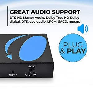 Great Audio Support