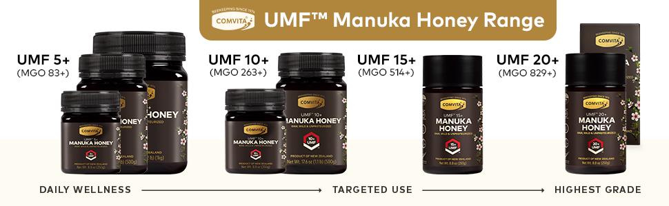 Comvita UMF Raw Manuka Honey