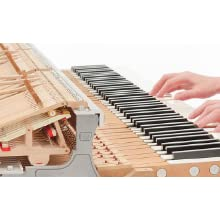 Authentic acoustic piano touch