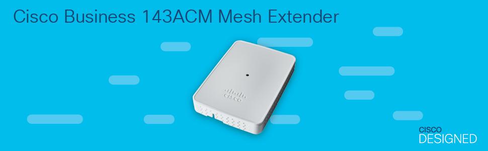 Cisco Business 143ACM Mesh Extender
