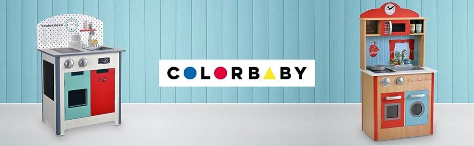 WOOMAX - Cocinita de madera Fashion (ColorBaby 85291): Amazon.es ...
