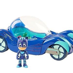 PJ Masks - Vehículo Deluxe Gatauto (Gatuno)