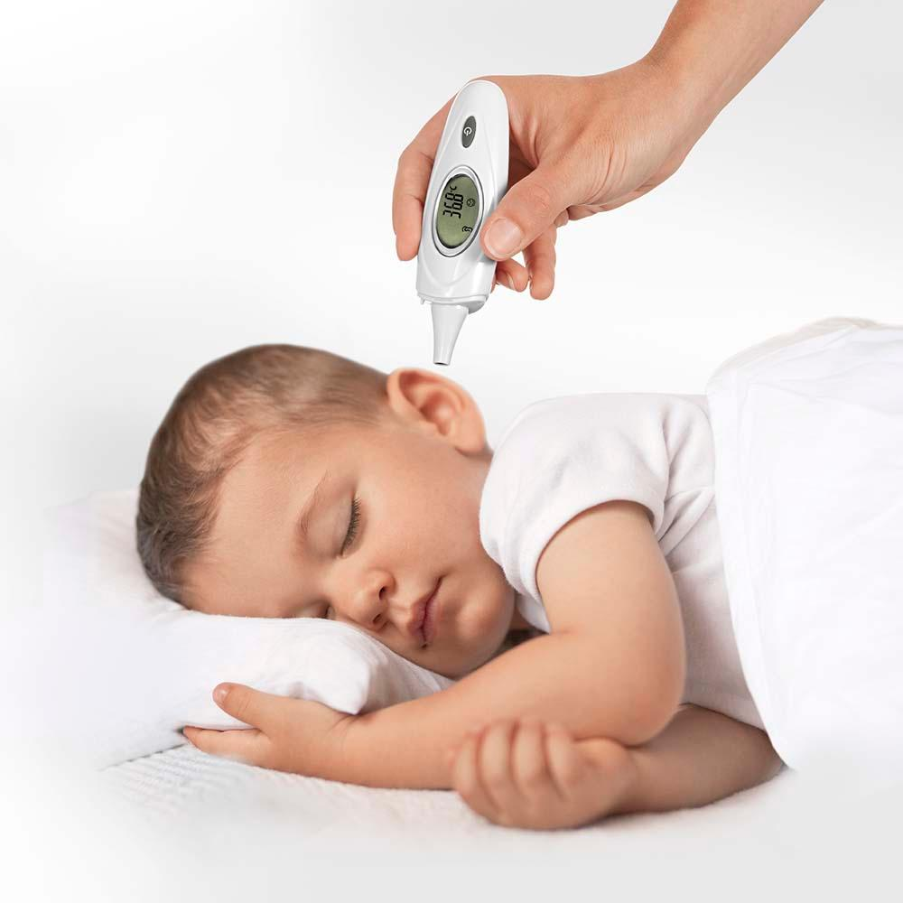 reer 98020 skintemp 3in1 infrarot fieber thermometer baby. Black Bedroom Furniture Sets. Home Design Ideas