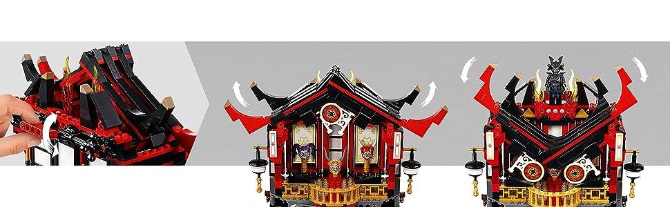 LEGO Ninjago - Templo de la resurrección (70643): Amazon