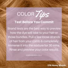 color tips, conditioning is key, fade resist