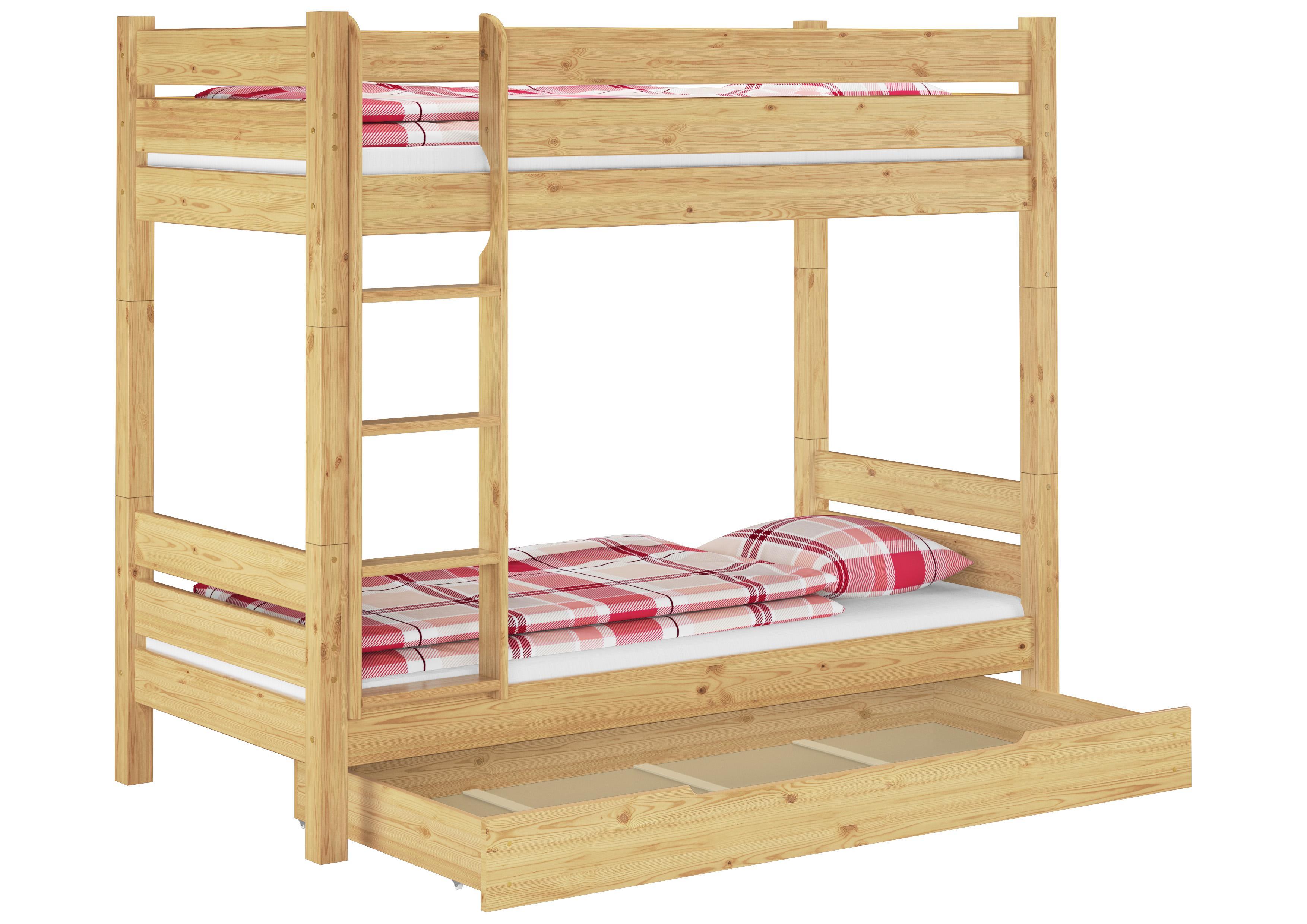 Etagenbett Quba 3 : Erst holz massivholz etagenbett stockbett kiefer teilbar