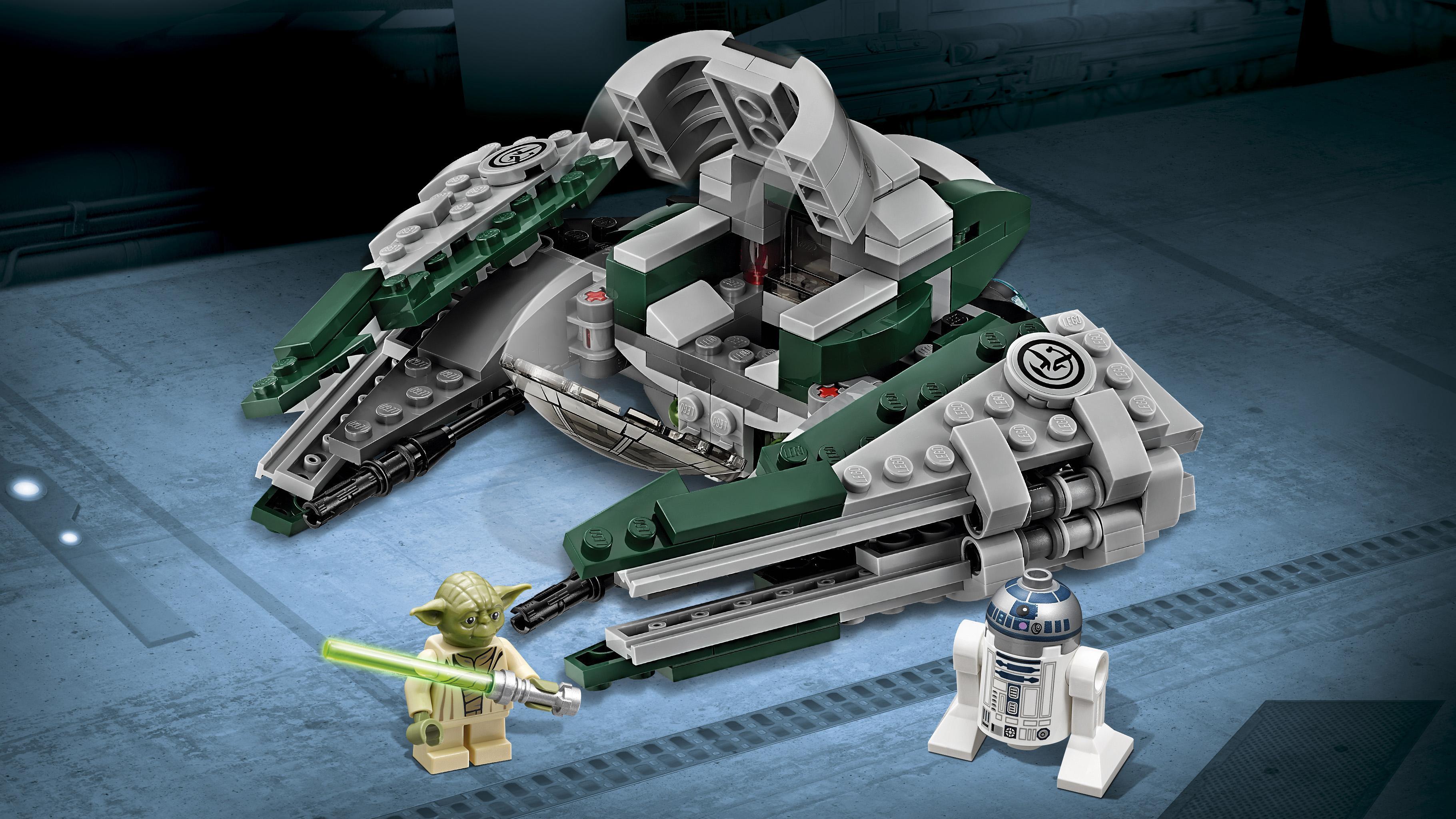 Lego star wars yoda 39 s jedi starfighter 75168 - Lego star warse ...