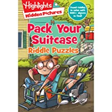Pack Your Suitcase Riddle Puzzles - Jumbo Book Of Hidden Pictures® (Highlights Jumbo Books & Pads)