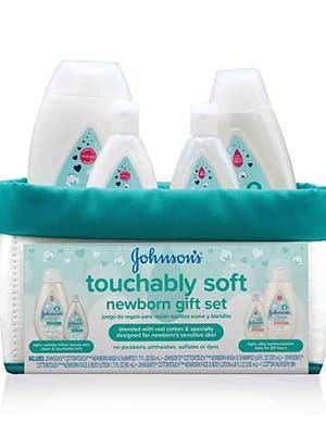 Johnson's Touchably Soft Newborn Gift Set