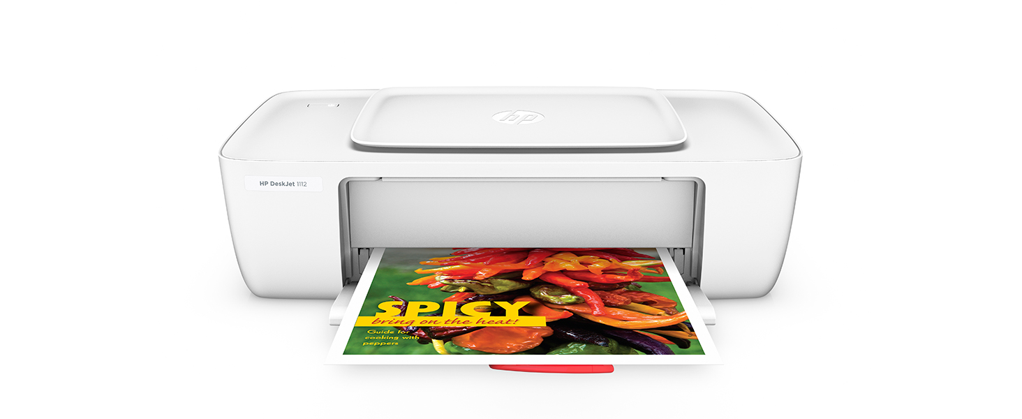 HP Deskjet 1112 Compact Printer (F5S23A)