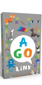 AGO リンク 英単語 カードゲーム