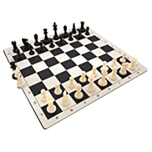 comes with 34 pieces including extra queens in case one of your pawns can be promoted