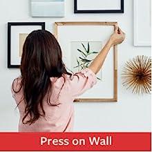 press on wall