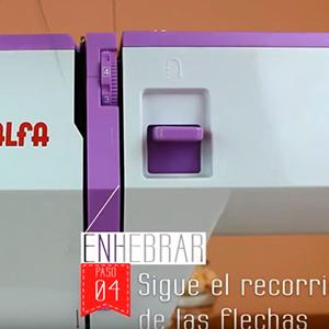 Alfa Maquina De Coser Style 20 Zig-Zag, Rosa, Talla Única: Amazon ...