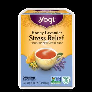 Yogi Tea, Honey Lavender Stress Relief, 16 Count