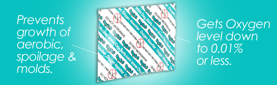 Oxy Sorb 60 300cc Oxygen Absorbers For Long Term Food
