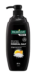 Men 3 in 1 Wash For Body, Face and Hair With Citrus & Natural Mineral Salt