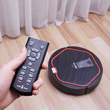 iClebo Arte Robotic Vacuum Cleaner Rome Controller and Schedule Cleaning