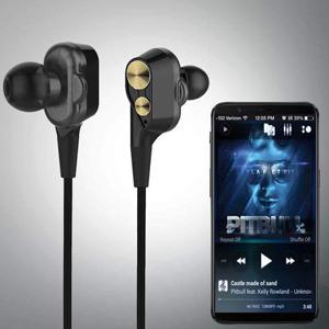 PTron Boom 2 4D Earphone Deep Bass Stereo Sport Wired Headphone
