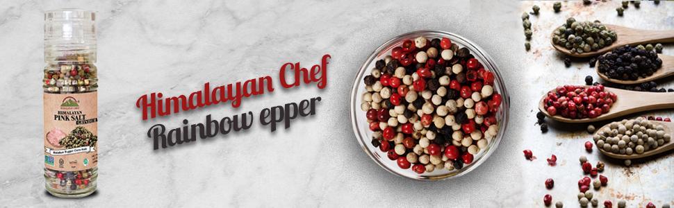 Molinillo de sal rosa Himalayan Chef, jarrón tostado y ...