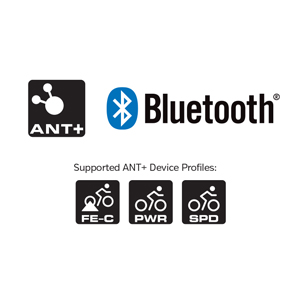 ANT+ and Bluetooth Smart