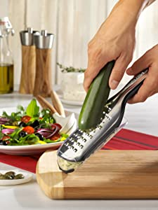 Cheese Grater, Grated zucchini