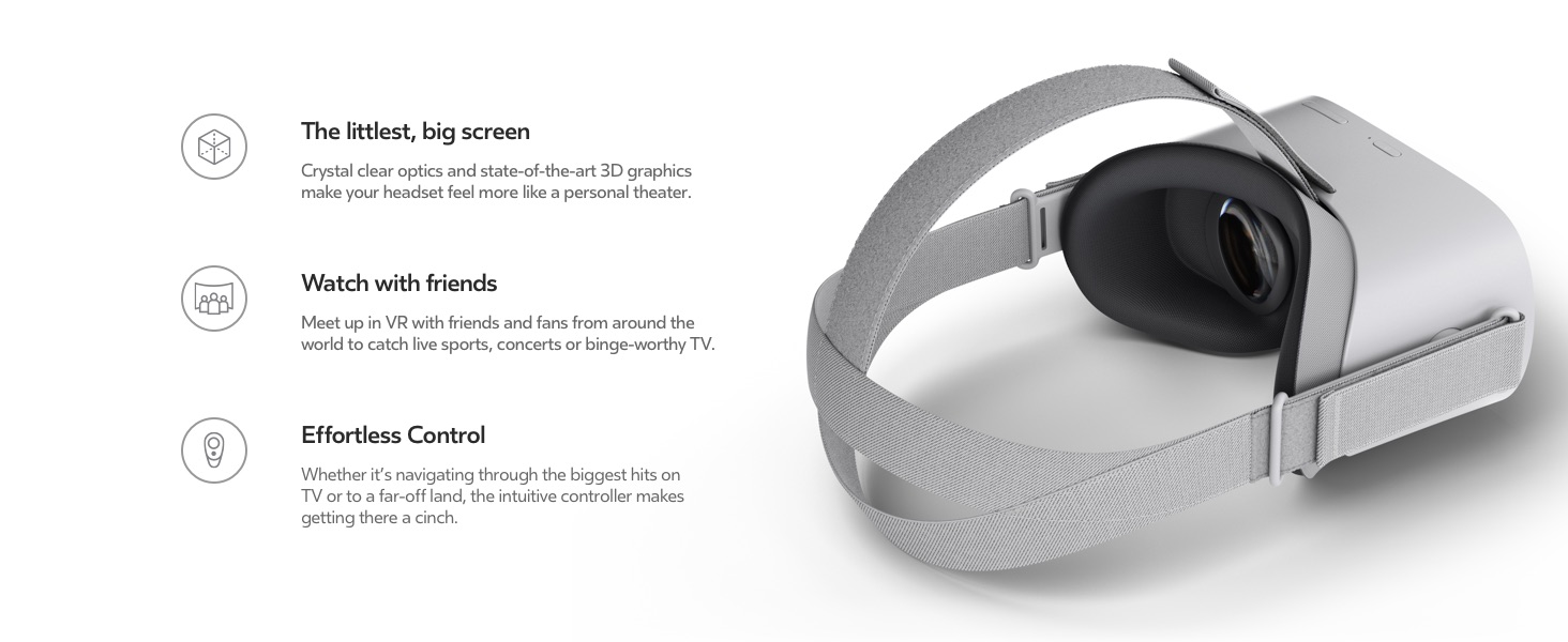 9570fd246030 Amazon.com  Oculus Go Standalone Virtual Reality Headset - 32GB  pc ...