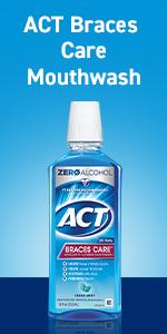Act Braces Care Mouthwash