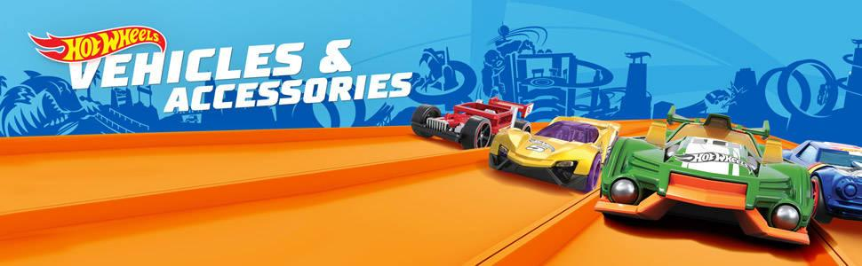 Instant starter collection with 5 Hot Wheels cars in 1 pack!