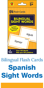 Bilingual Sight Words in Spanish