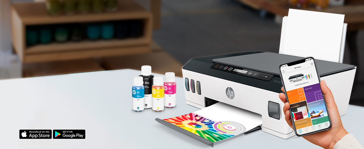 mobile printing and scanning hp smart app