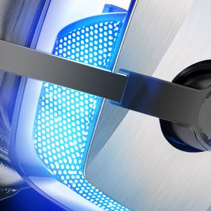 led light headset