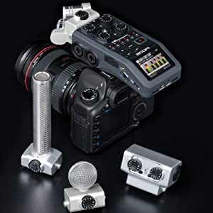 Zoom H6 Handy Recorder DSLR Camera